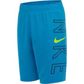 "Nike Swim Logo 8"" Volley Shorts Boys, blauw"